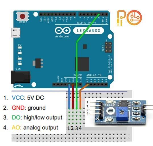 Humidity And Rain Detection Sensor Module Pinouts And