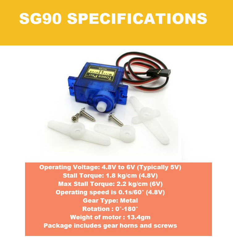 SG90 specifications